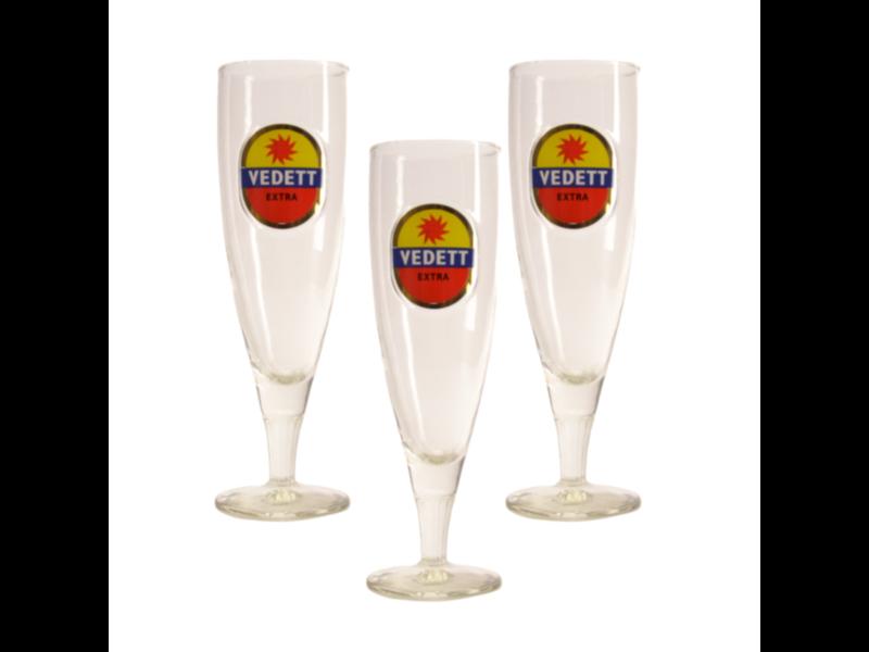 Mag 3set // Vedett on Foot Beer glass - 33cl (Set of 3)