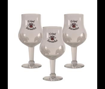 Tripel Karmeliet Beer glass - 33cl (Set of 3)