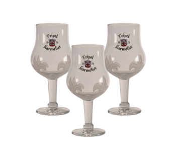 Tripel Karmeliet Beer glass - 33cl (Set of 3)