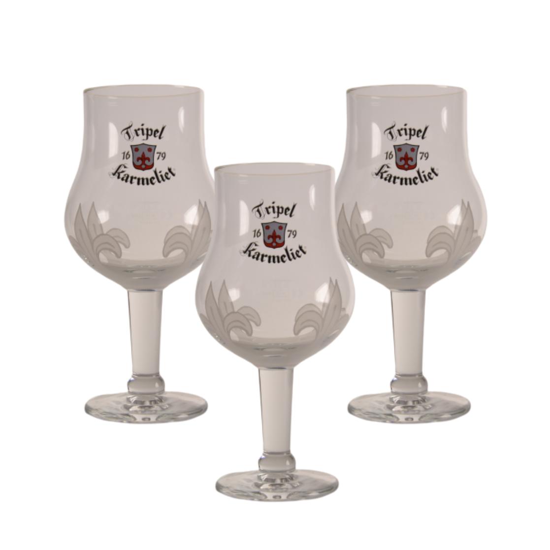 33cl Karmeliet Tripel Belgium Beer Glass