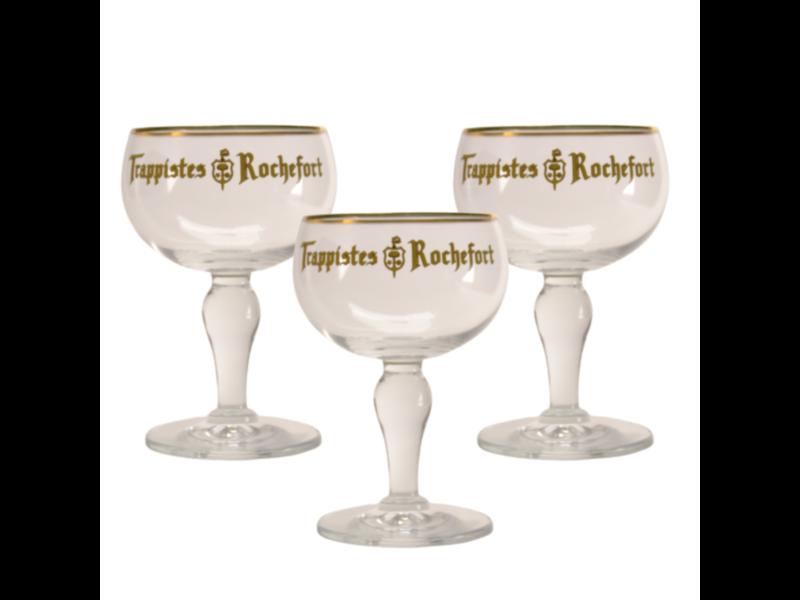 Gbol Verre a Biere Trappistes Rochefort - 33cl (Lot de 3)