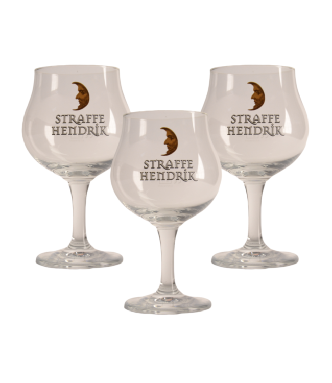 Straffe Hendrik Beer glass - 33cl (Set of 3)