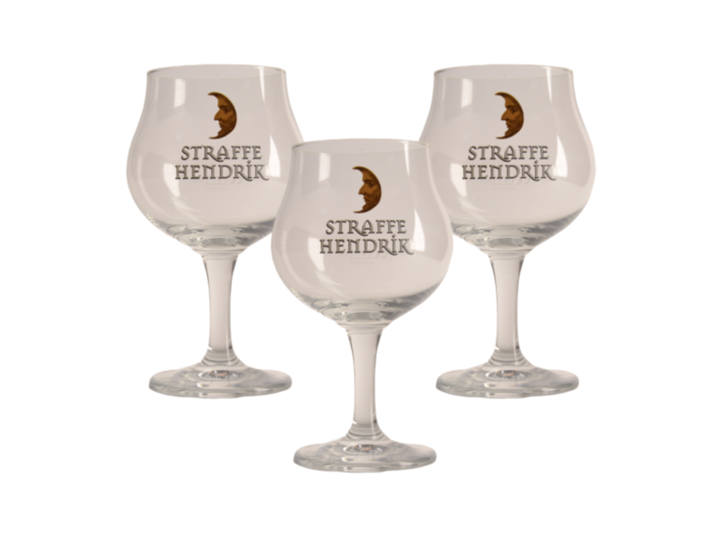 MAGAZIJN // Straffe Hendrik Beer glass - 33cl (Set of 3)