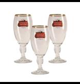 Mag 3set // Stella Artois op voet Bierglas - 25cl (Set van 3)