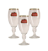 Mag 3set // Stella Artois zu Fuss Bierglas - 25cl (3 Stück)