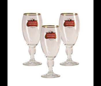 Stella Artois on Foot Beer glass - 25cl (Set of 3)