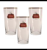 Gbol Stella Artois Bierglas - 25cl (3 Stück)