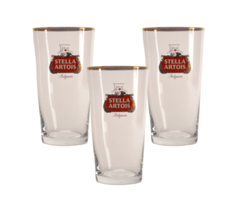 Stella Artois Beer glass - 25cl (Set of 3)