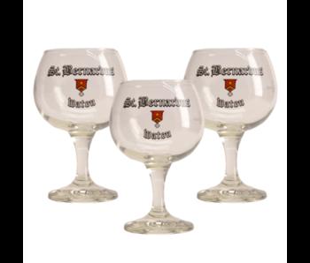 St Bernardus Bierglas - 33cl (Set van 3)