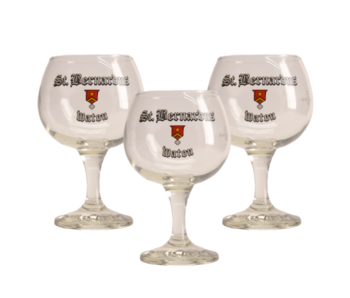 St Bernardus Bierglas - 33cl (3 Stück)