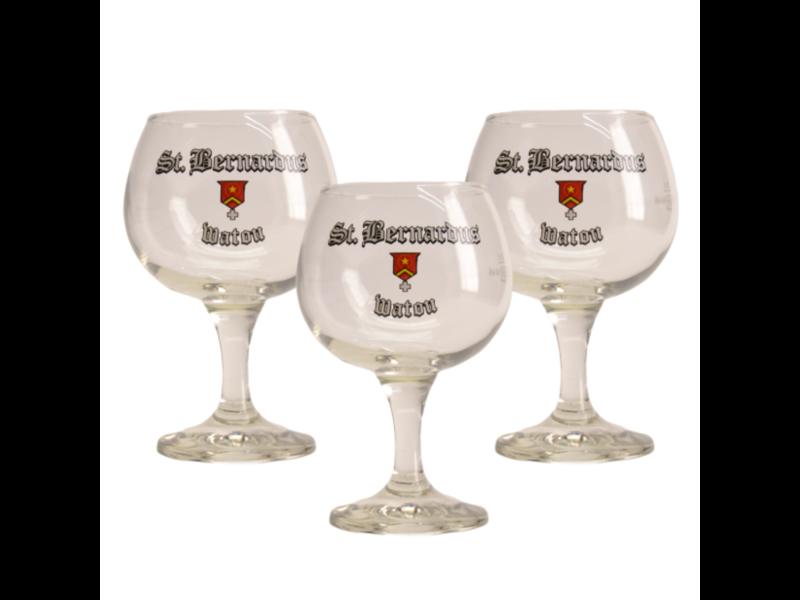 Gbol St Bernardus Bierglas - 33cl (3 Stück)