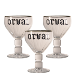 Mag 3set // Orval Beer glass - 33cl (Set of 3)