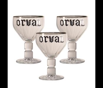 Orval Bierglas - 33cl (3 Stück)