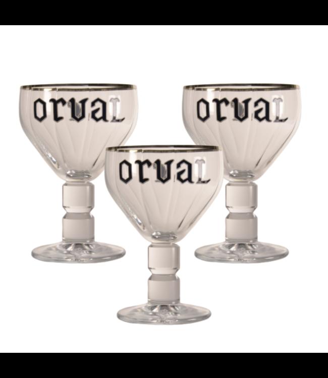 Orval Bierglas - 33cl (Set van 3)