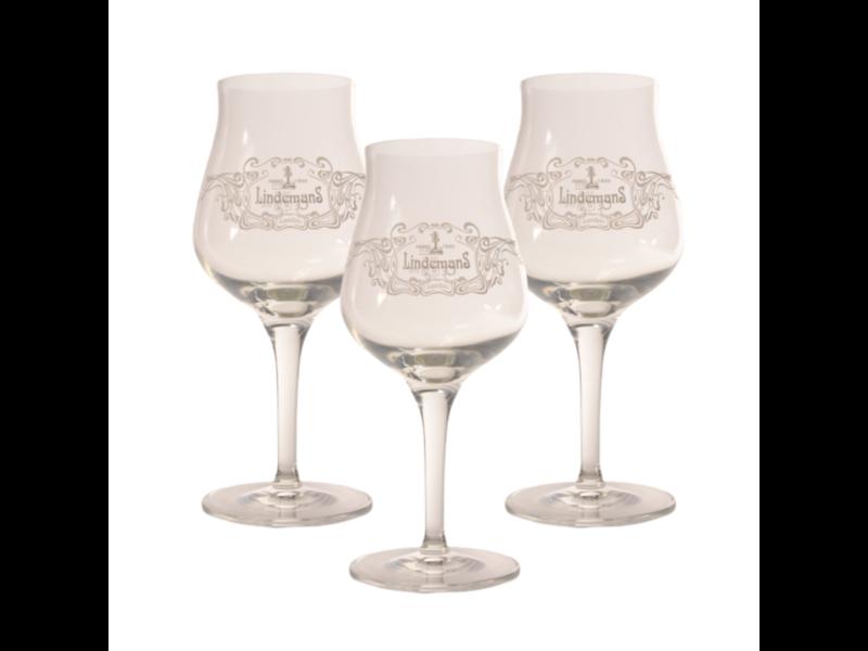 Mag 3set // Lindemans Beer glass - 25cl (Set of 3)