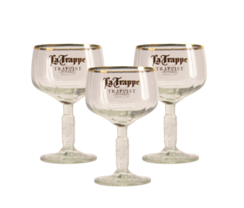 La Trappe Beer glass - 25cl (Set of 3)
