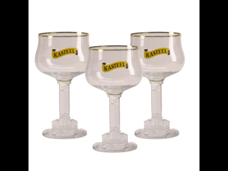 Gbol Kasteel Beer glass - 33cl (Set of 3)