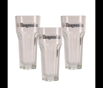 Hoegaarden Bierglas - 25cl (3 Stück)