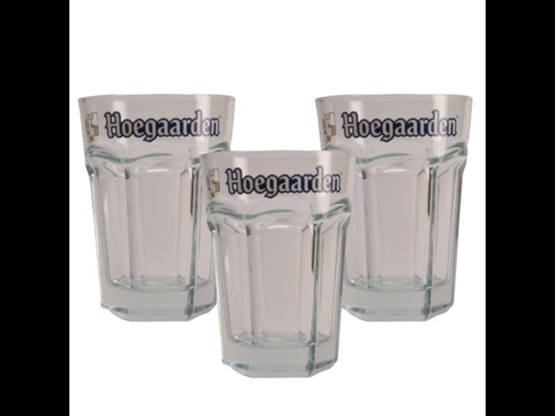 Gbol Hoegaarden beer glas - 50cl (3 Stück)
