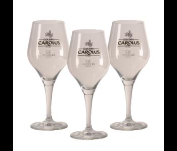 Gouden Carolus Bierglas - 33cl (3 Stück)