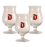 MAGAZIJN // Duvel Beer glass - 33cl (Set of 3)