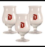MD / CLIP 03 Duvel Beer glass - 33cl (Set of 3)