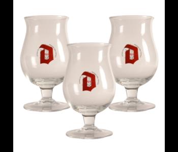 Duvel Beer glass - 33cl (Set of 3)