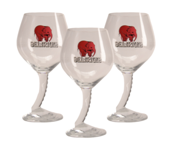Delirium Beer glass - 33cl (Set of 3)