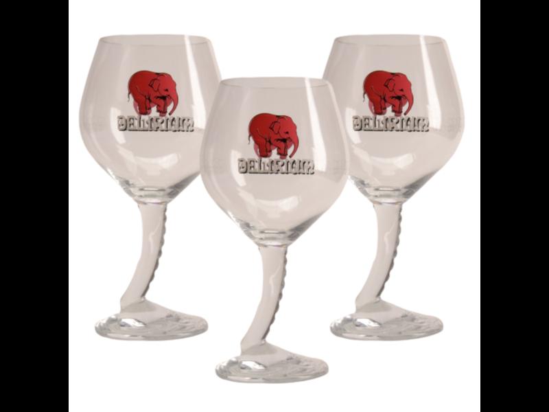 MD / CLIP 03 Delirium Beer glass - 33cl (Set of 3)