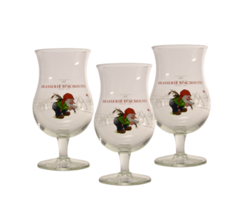Chouffe Beer glass - 33cl (Set of 3)