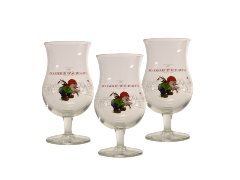 MAGAZIJN // Chouffe Beer glass - 33cl (Set of 3)
