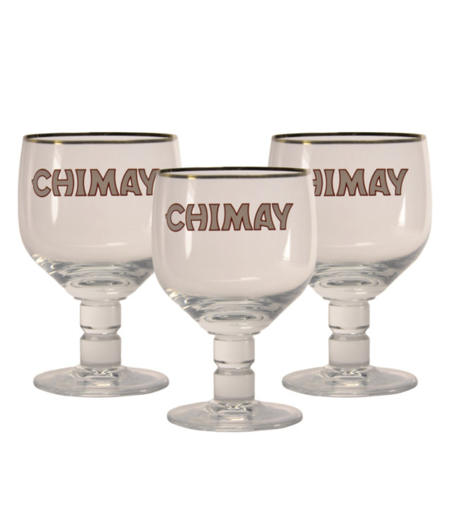 Chimay Beer glass - 33cl (Set of 3)