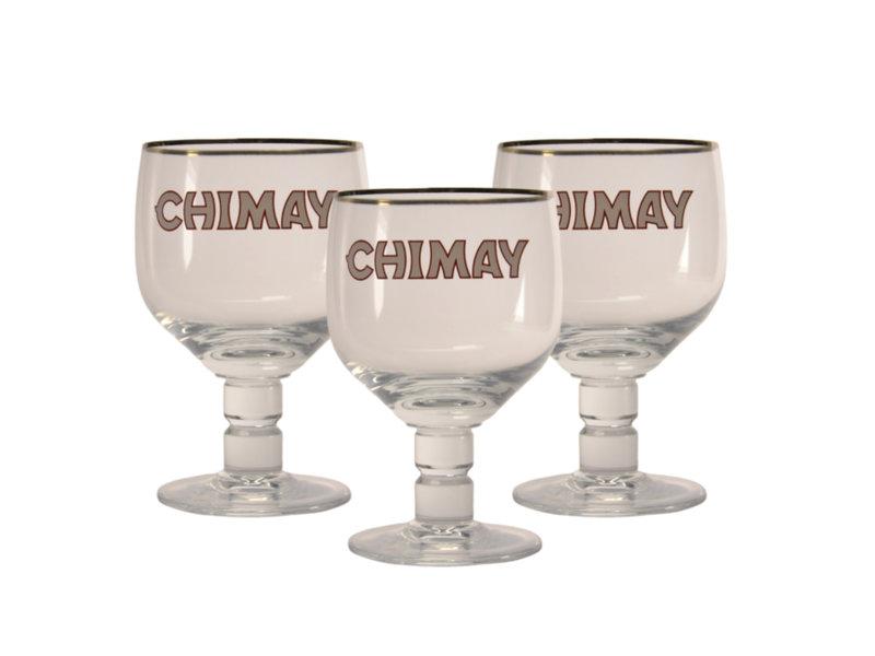 MD / CLIP 03 Chimay Bierglas - 33cl (3 Stück)