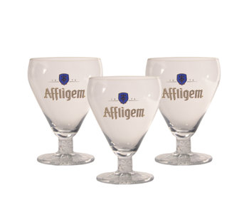 Verre a Biere Affligem - 30cl (Lot de 3)