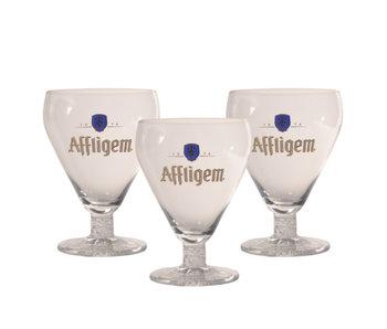 Affligem Beer glass - 30cl (Set of 3)