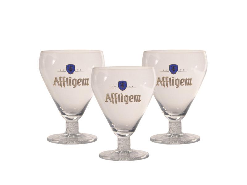 Gbol Affligem Beer glass - 30cl (Set of 3)