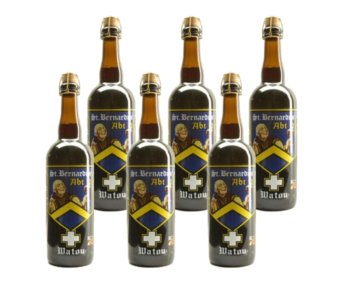 St Bernardus Abt 12 - 75cl - Lot de 6
