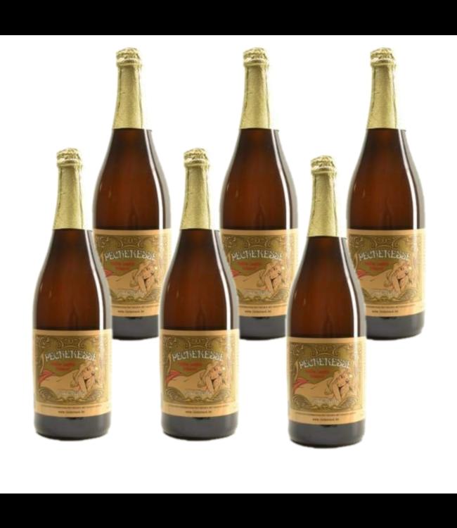 Lindemans Pecheresse - 75cl - Set of 6 bottles
