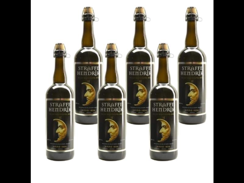 WB / CLIP 06 Straffe Hendrik 11 Quadrupel - 75cl - Set of 6 bottles