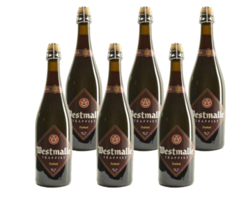 Westmalle Dubbel - 75cl - Set of 6 bottles
