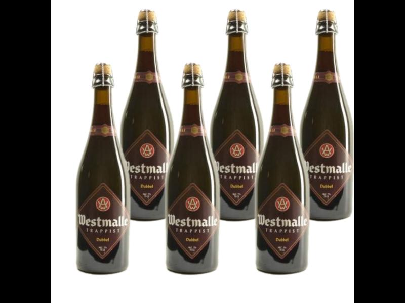 Westmalle Dubbel - 75cl - Set of 6 bottles