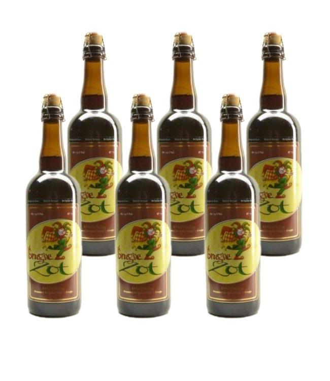 Brugse Zot Dubbel - 75cl - Set of 6 bottles