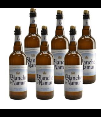 SET VAN 6    l-------l Blanche De Namur - 75cl - Set van 6 stuks