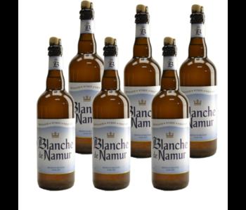 Blanche De Namur - 75cl - Set van 6 stuks