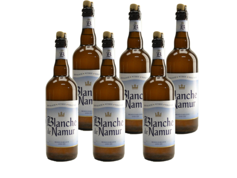 WB / CLIP 06 Blanche De Namur - 75cl - Set of 6 bottles
