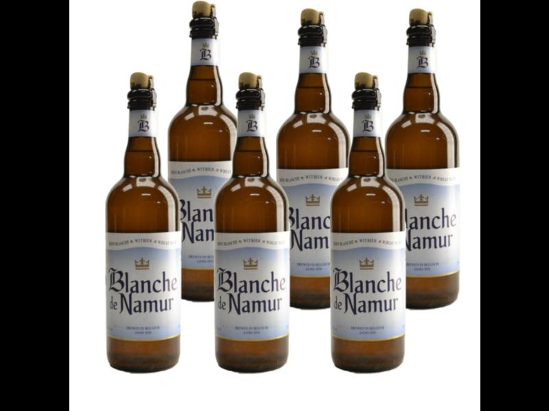 WB / CLIP 06 Blanche De Namur - 75cl - Set van 6 stuks