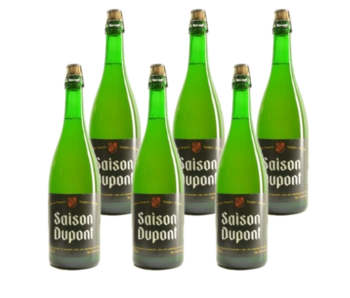 Saison Dupont - 75cl - Set van 6 stuks