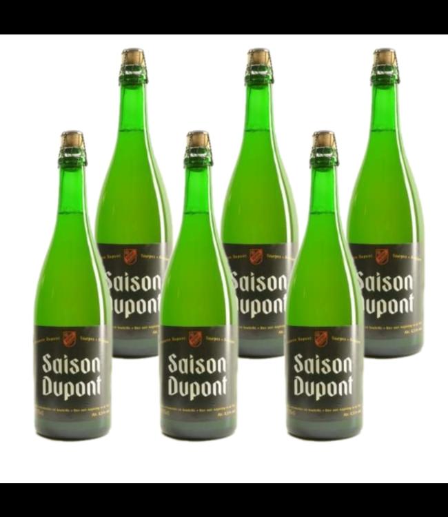 SET VAN 6    l-------l Saison Dupont - 75cl - Set van 6 stuks
