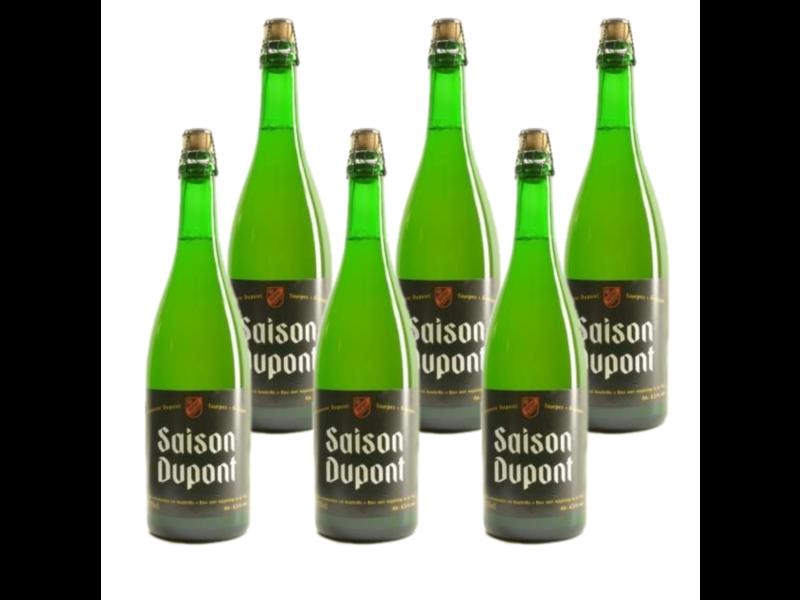 WB / CLIP 06 Saison Dupont - 75cl - Set van 6 stuks