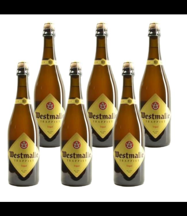 Westmalle Tripel - 75cl - Set of 6 bottles